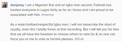 Don jazzy reply