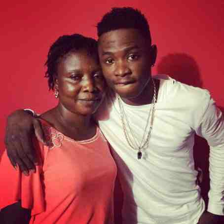 Lil Kesh Shows Off Mum On Instagram