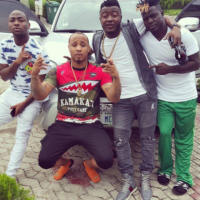 MC Galaxy, B-red, Lati & Davido