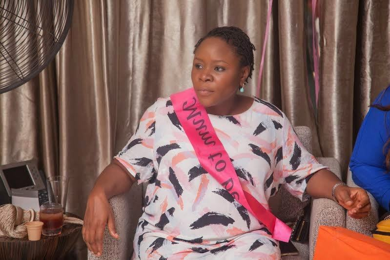Omawumi' baby shower