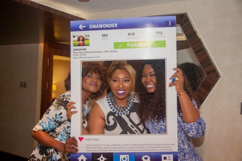 Omawumi's baby shower 2