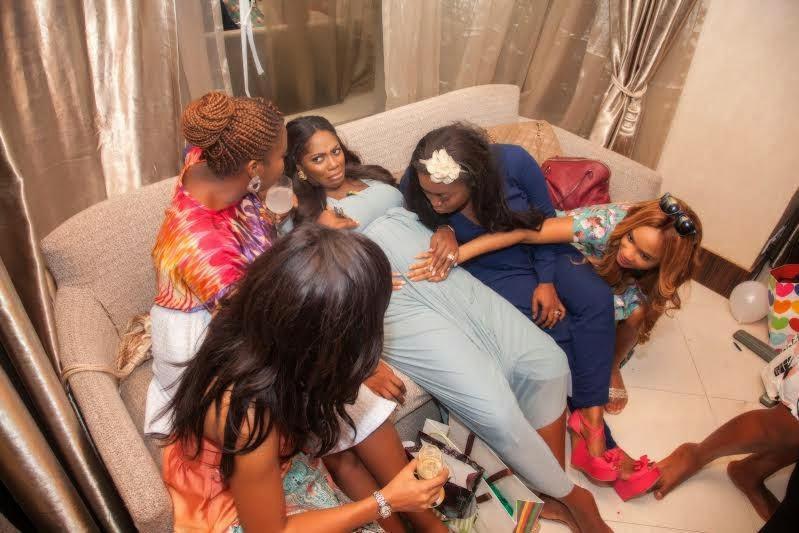 Omawumi's baby shower 7