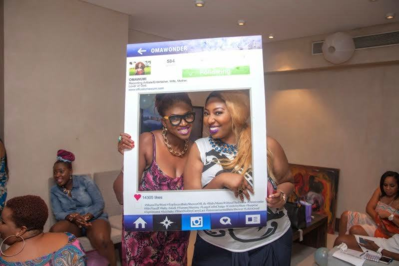 Omawumi's baby shower 9