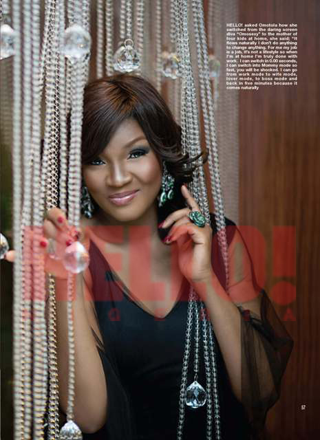 Omotola And Hello! Nigeria