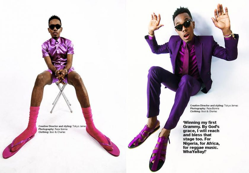 Patoranking covers new issue of Made Magazine
