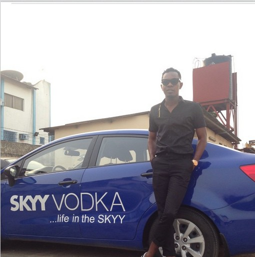 Patoranking signs endorsement deal with Skyy Vodka