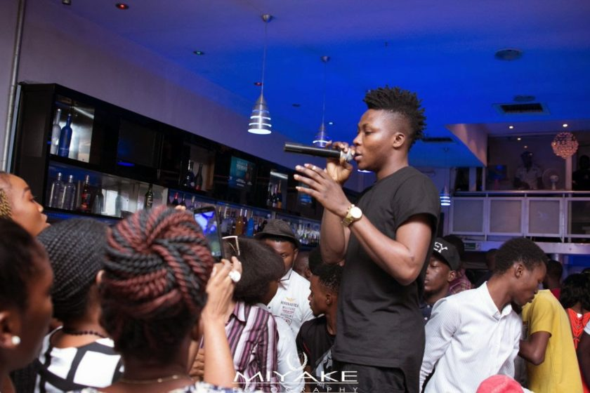 Reekado Banks at The Stage Unplugged