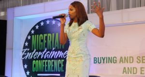 Seyi Shay at NEC 2015