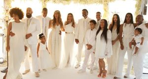 Tina Knowles and Richard wedding
