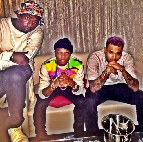 Wizkid and Chris Brown in SA