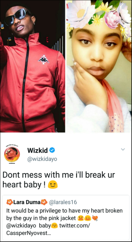 Wizkid warns all his side chicks