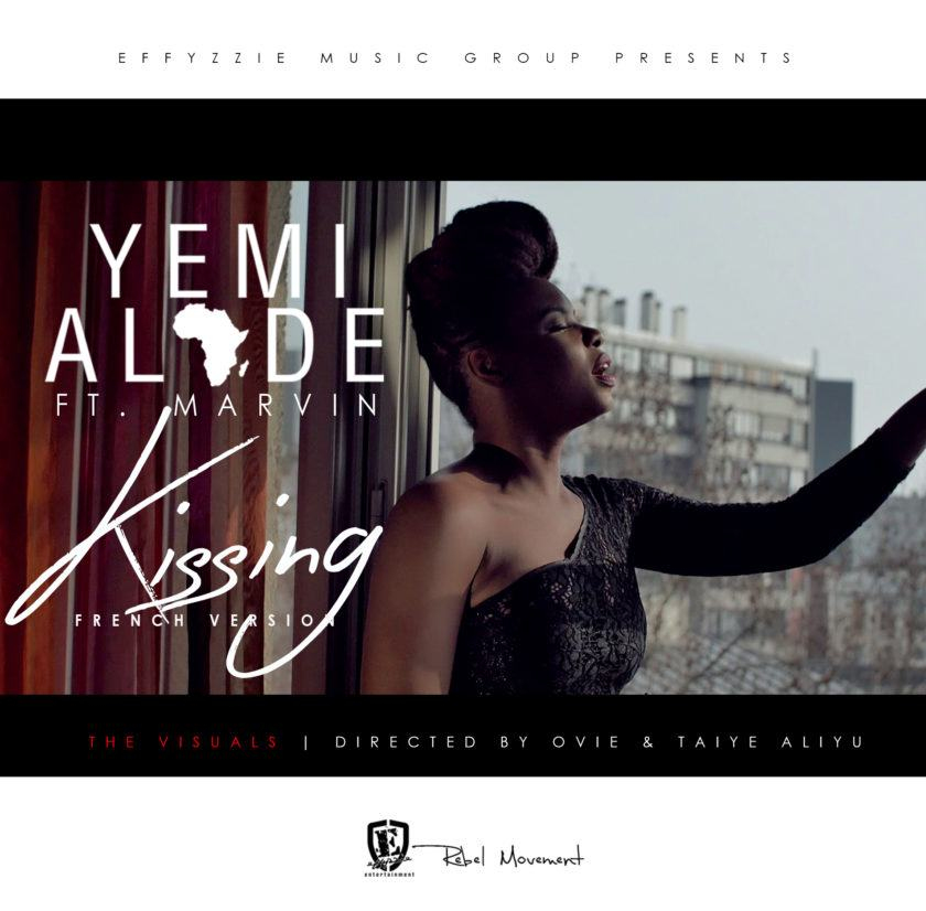 Yemi Alade – Kissing (French Remix) ft Marvin [VIDeo]