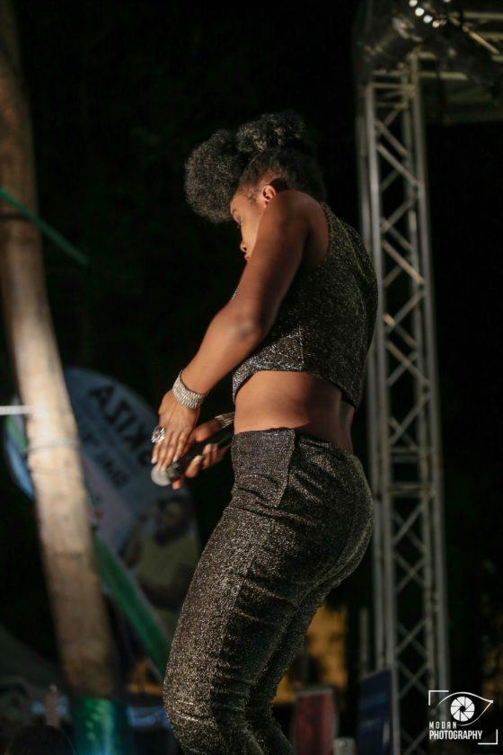 Yemi Alade takes over Mombasa, thrills Kenyan fans on Easter Sunday
