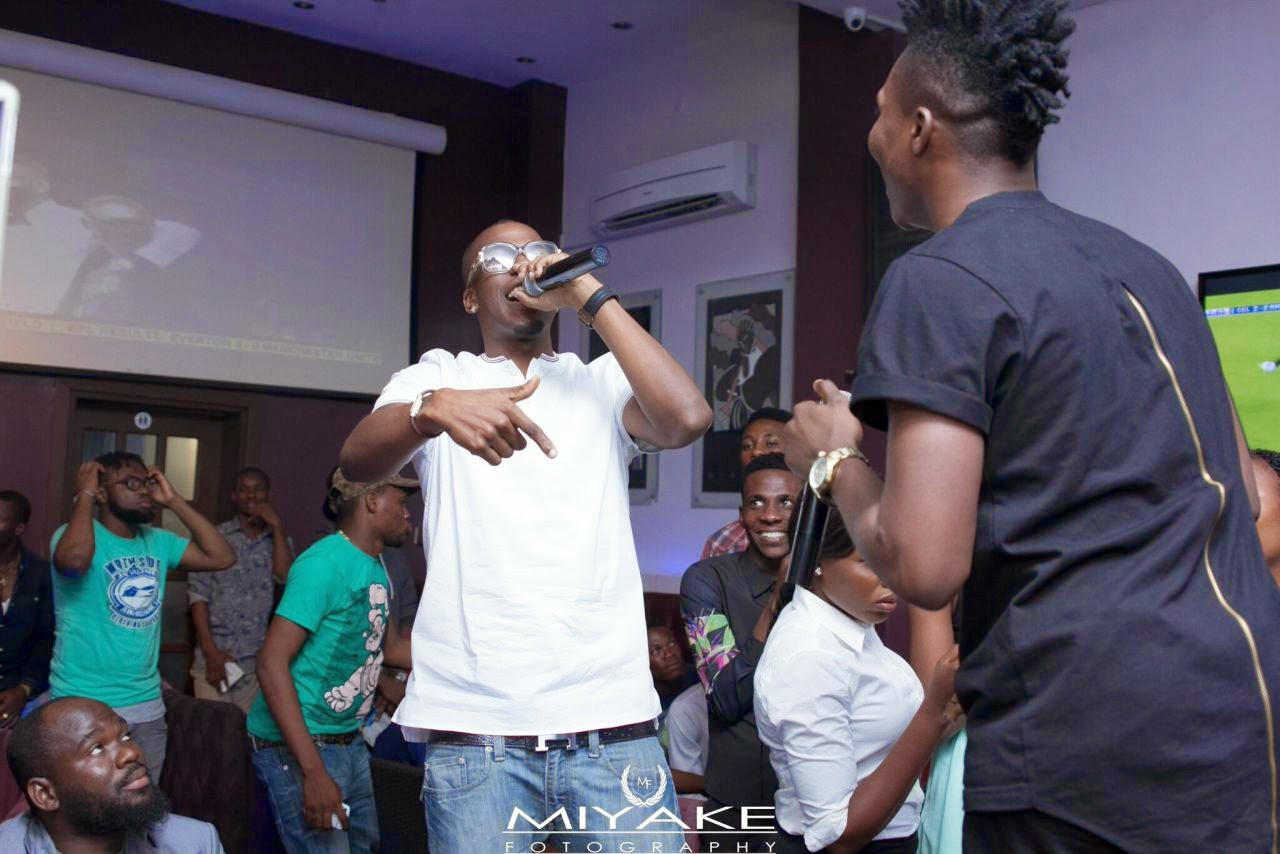 iceberg Slim and Reekado Banks at The Stage Unplugged