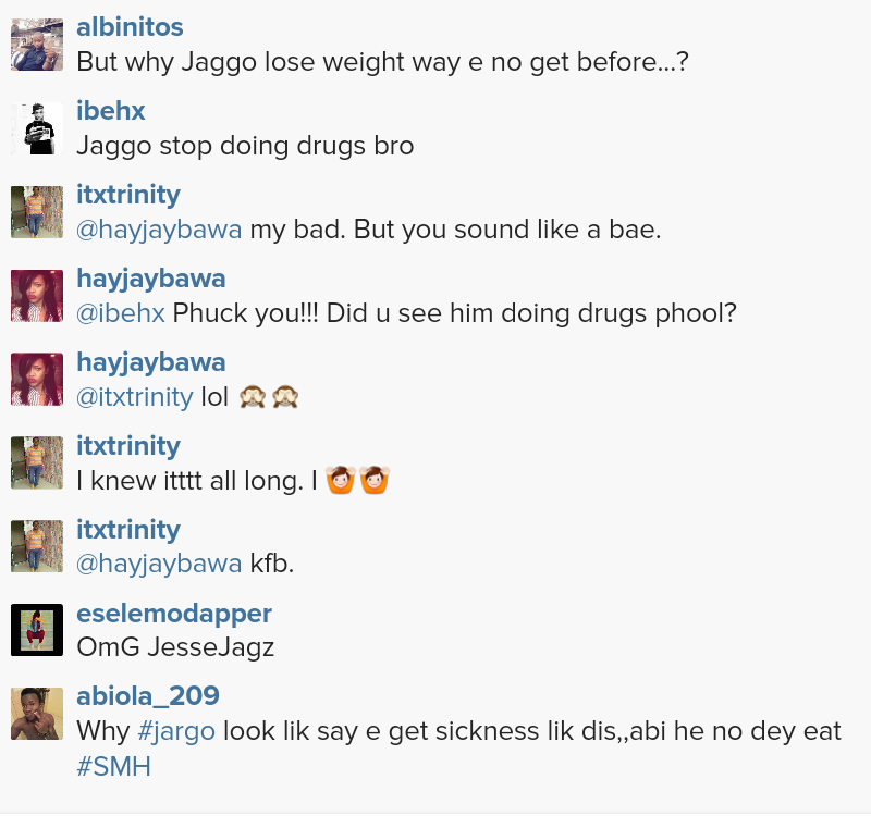 What's wrong?! See Jesse Jagz's drastic weight loss