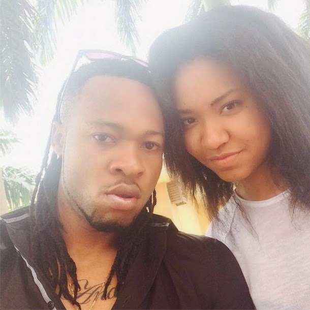 Anna Ebiere and Flavour