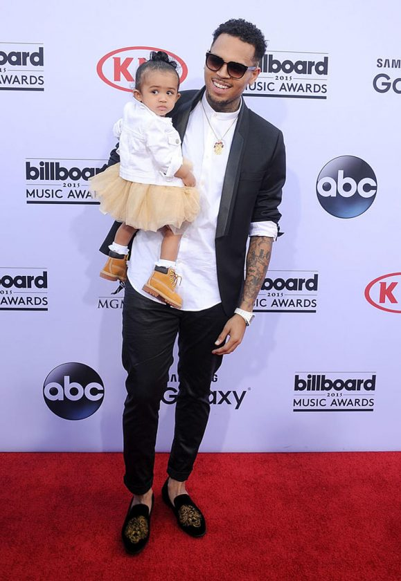 Chris Brown and Royalty attend 2015 Billboard Awards