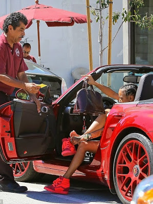 Chris Brown took back the car he bought for Karrueche