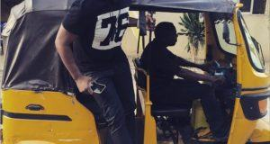 Dare Art Alade spotted in keke