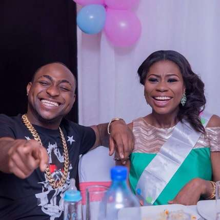 Davido with Sophie