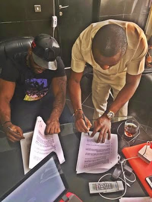 Iyanya renews contract with MTN