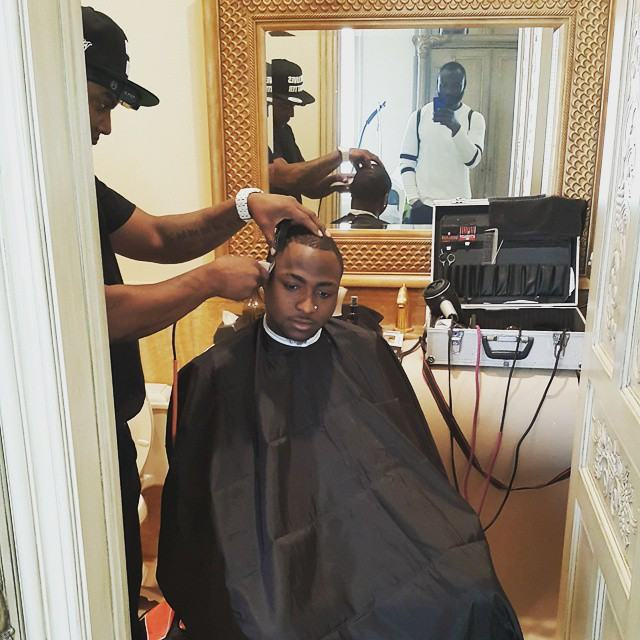 Photos from Davido and Meek Mill Video BTS