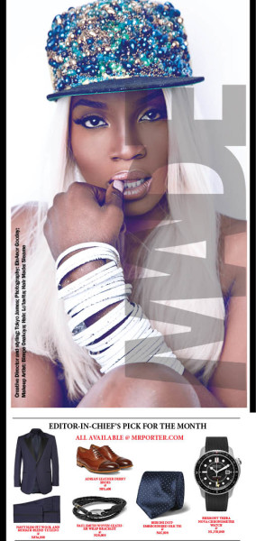 Seyi Shay cover of Made Magazine