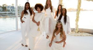Tina Knowles wedding