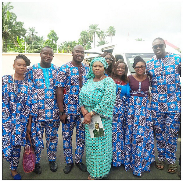 Yemi Alade shares photos from her father's burial