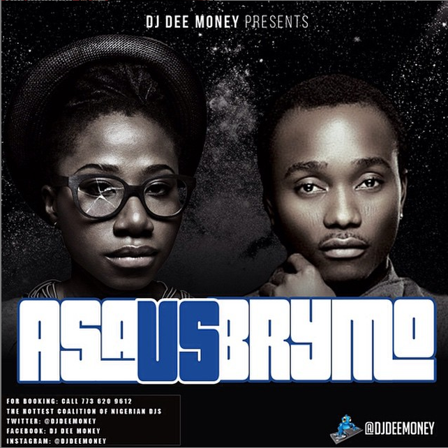 DJ Dee Money - Asa Vs Brymo [MixTape]