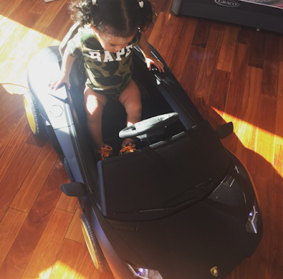 Royalty in her car