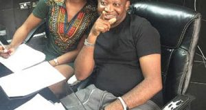 Seyi Shay and Paul Okoye