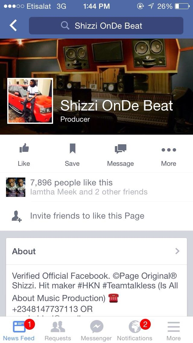 HKN  Producer Shizzi exposes social media fraudsters/impersonators