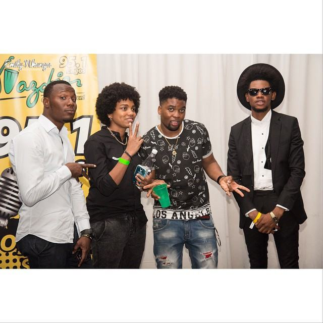 Photos from Skales 'Man of the Year' album launch