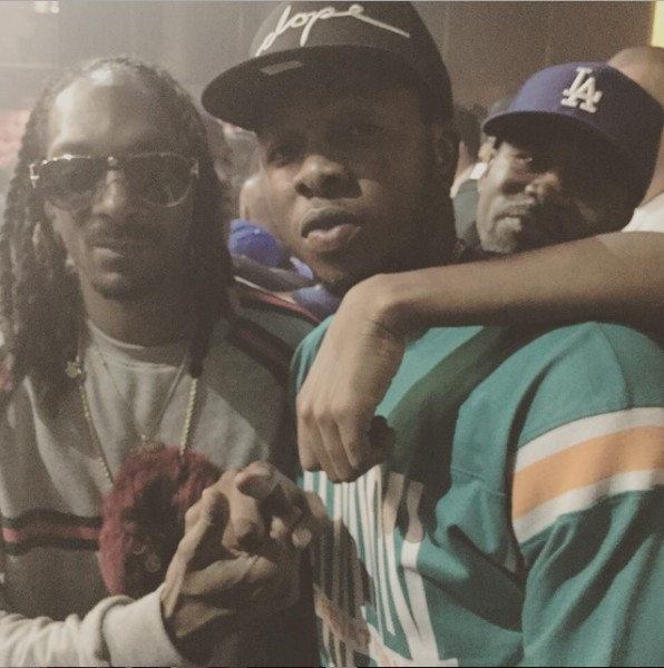 Runtown spotted with Snoop Dogg in Atlanta