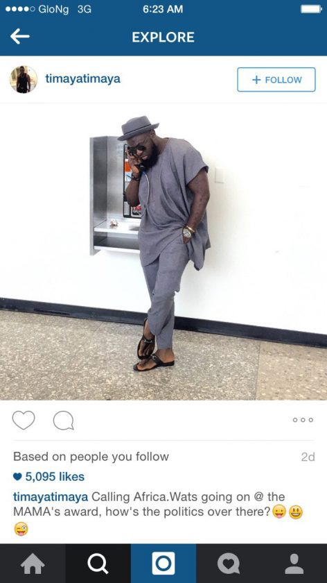 Timaya Throws Epic Shade At MTV MAMA Awards