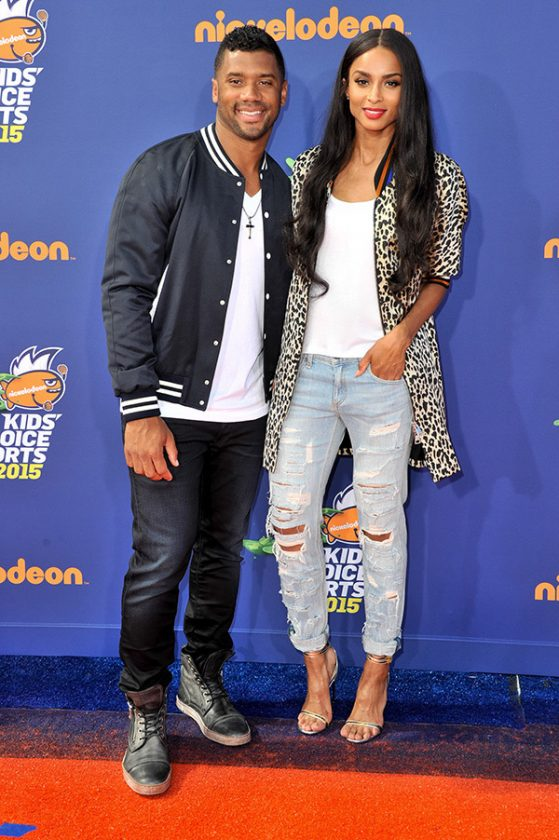 ciara & russell wilson kids choice sports awards