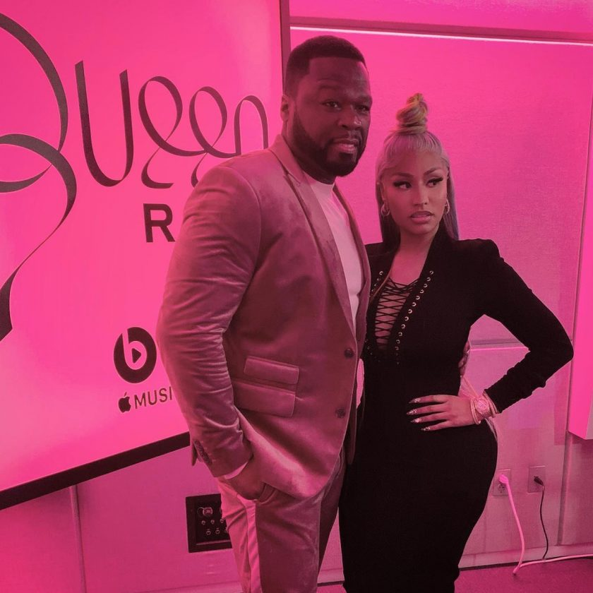 50Cent and Nicki Minaj
