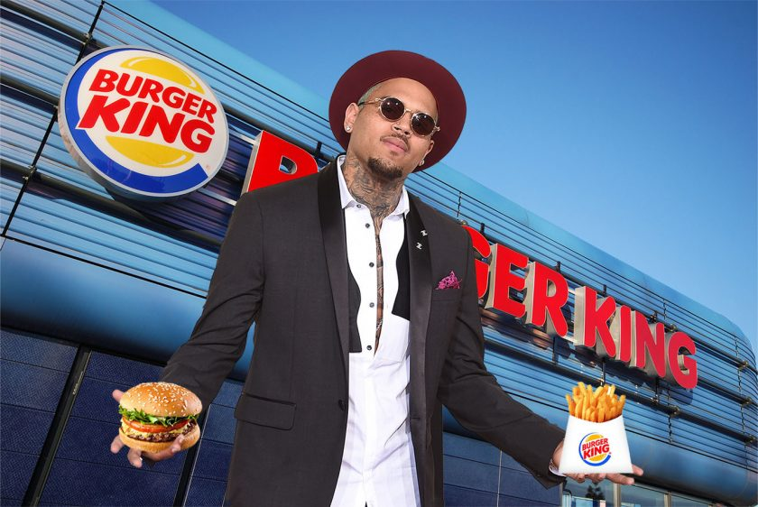 Chris Brown reveals he owns 14 Burger King restaurants