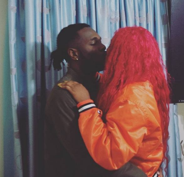Burna Boy and Cynthia Morgan are really dating