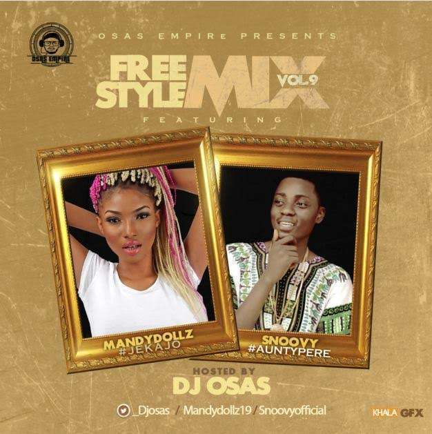 Dj Osas - Freestyle Mix