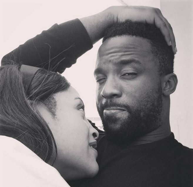 Iyanya and Freda Francis
