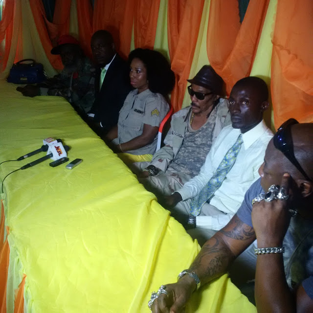Majek Fashek Press Conference In Abuja