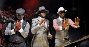 P-Square and J Martins dapper in suits