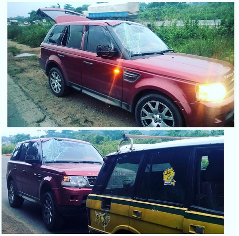 Psquare survive horrible motor accident