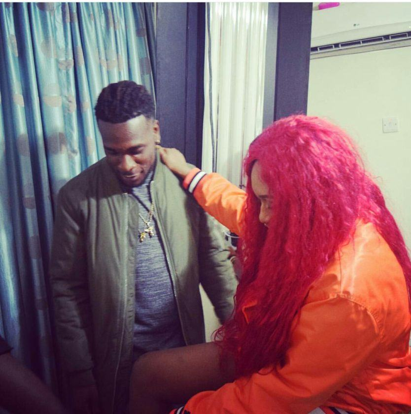 Burna Boy and Cynthia Morgan