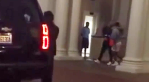 Drake & Serena Williams spotted smooching as they walked to their car