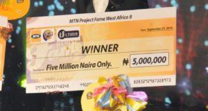 Jeffrey Emerges 2015 MTN Project Fame Winner