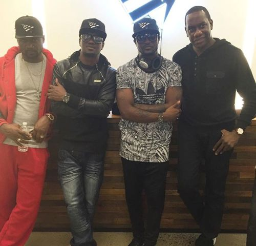 Jude, Psquare visit Jay z