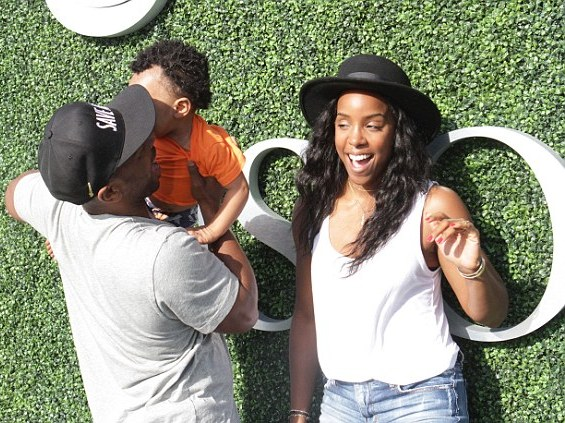 Kelly Rowland, Tim and Titan - US Open